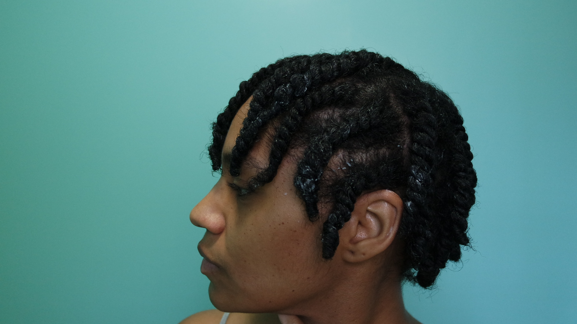 Tapered Fro Twist Out