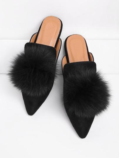 Shein PomPom Slippers