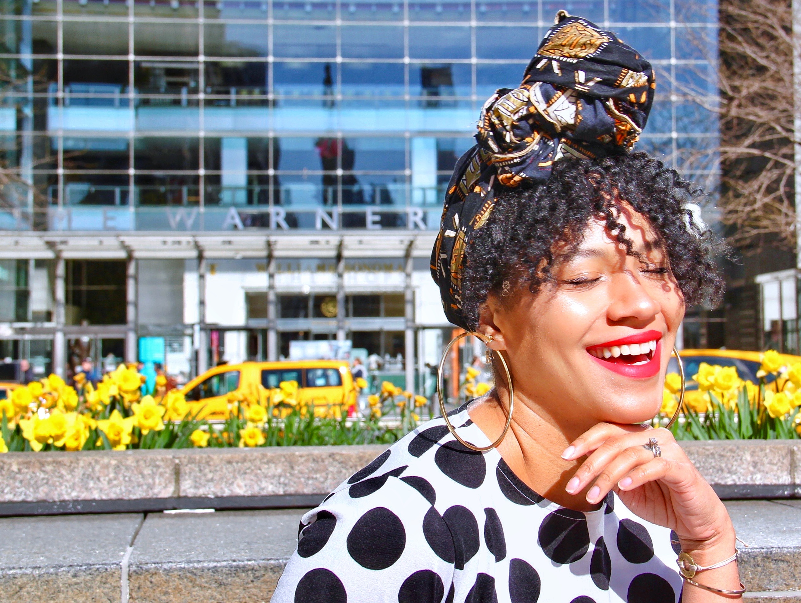 Ankara Headwrap Style