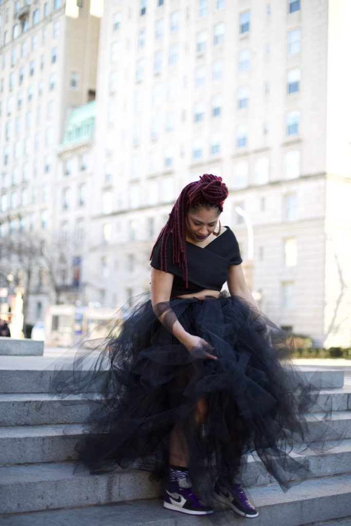 Oversized Tulle Skirt