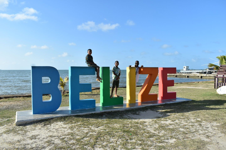 Belize Sign, Belize City