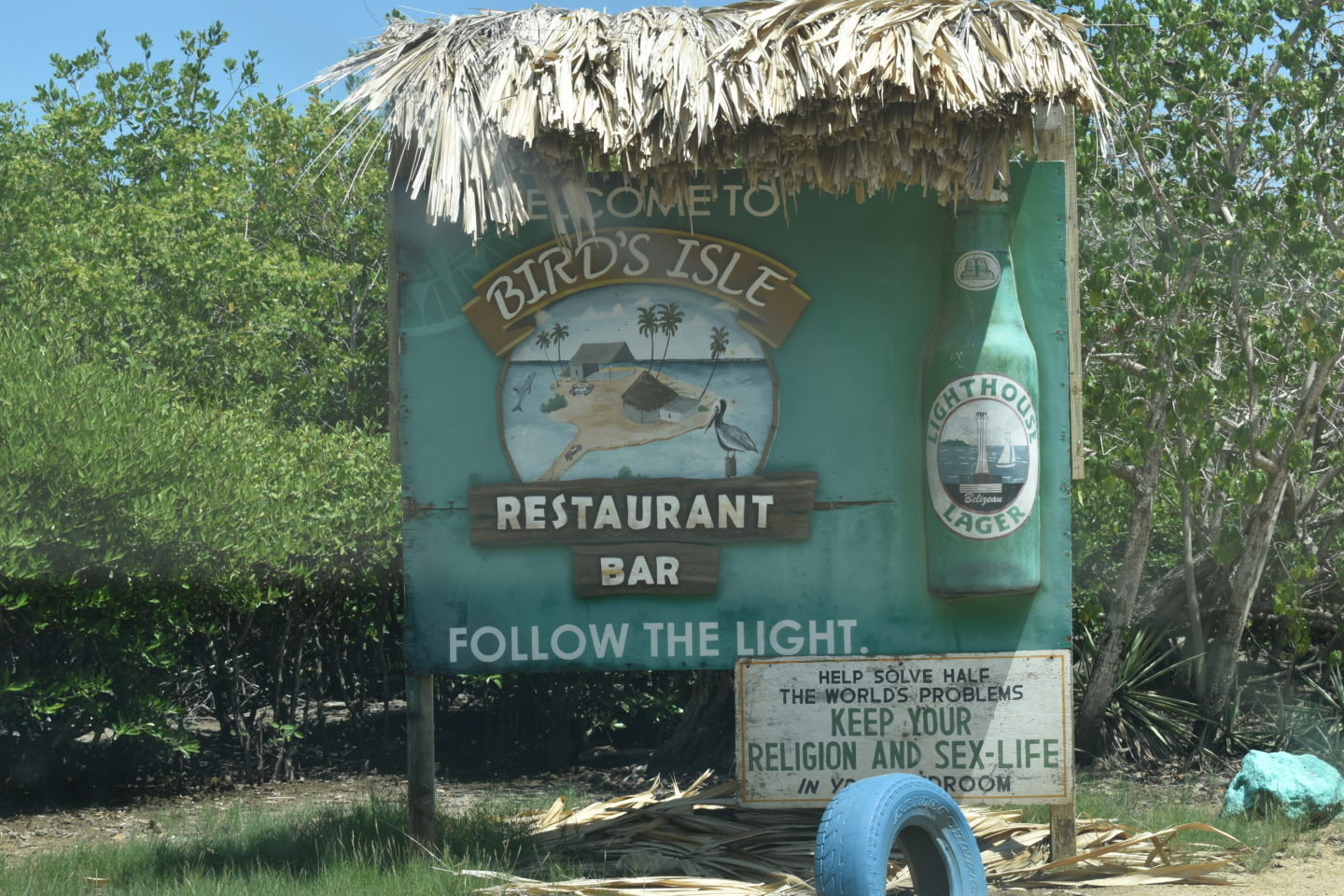 Bird's Isle Restaurant, Belize City