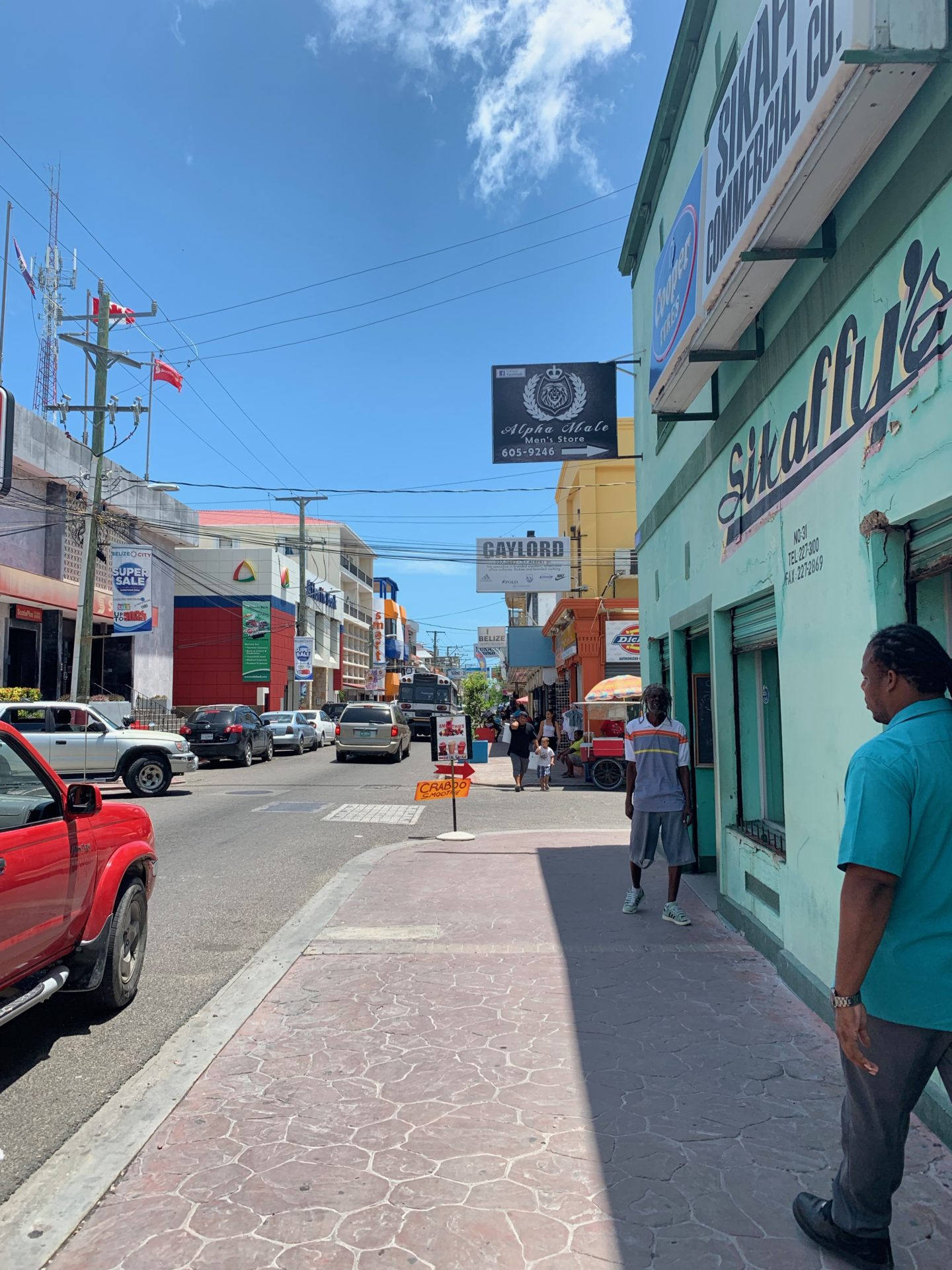 Albert Street, Belize City