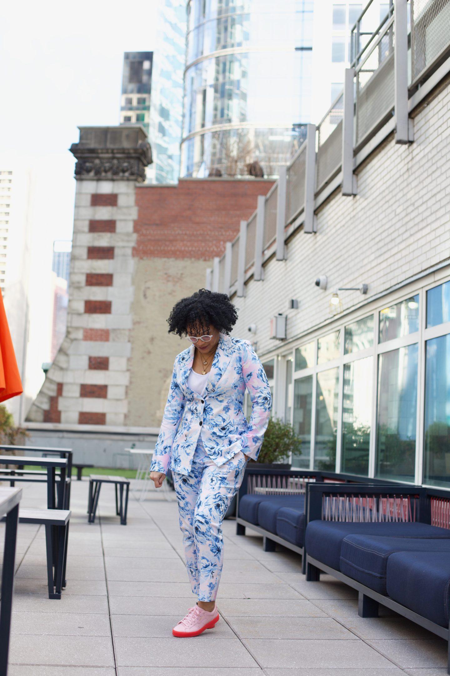 ASOS Design Floral Suit