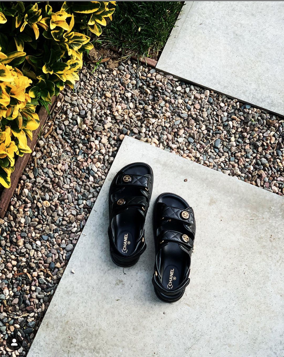 Chanel Dad Sandals 2020