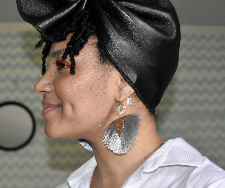 Fancy Fringe Fan Earrings