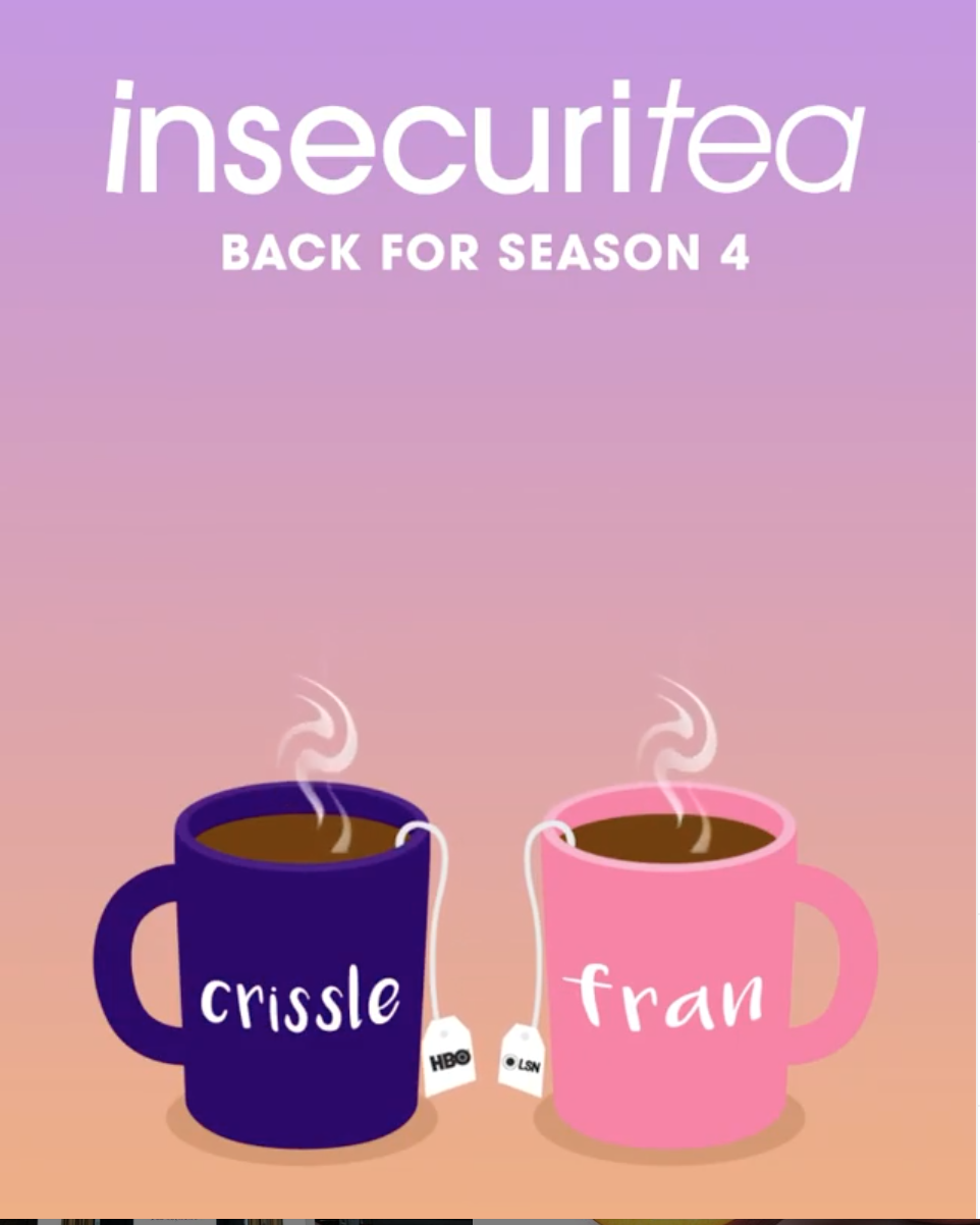 Insecuritea Podcast  Insecure HBO Hey Fran Hey  Crissle